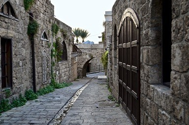 Lebanon Tours Image - old city of Byblos