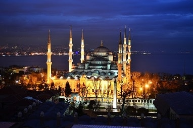 Turkey Tours Image - the Blue Mosque