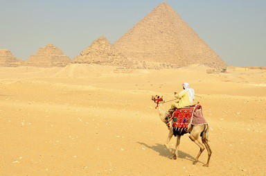 Egypt Tours Image - Pyramids in the background